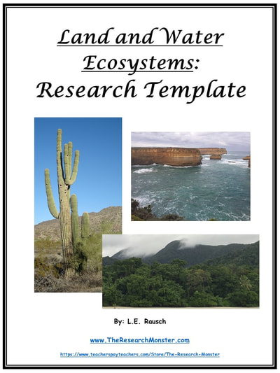 research land ecosystems and  water ecosystems